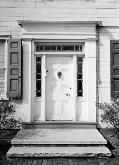 Hatfield house entry door