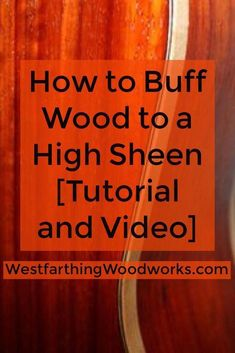 How to buff wood! This is your guide to buffing wood, buffing finishes, and a video that shows the process in action. This is a super fun and easy way to apply a finish, and your projects will be so glossy they look wet. Wood Turning Lathe, Wood Turning Projects, Wood Lathe, Wood Projects, Lathe Tools, Woodworking Lathe, Woodworking Classes, Woodworking Projects, Woodworking Beginner