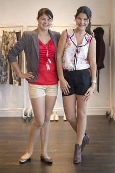 Teens and parents pick out back-to-school outfits