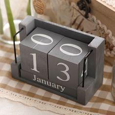 American retro wooden desk calendar ornaments shop decoration creative arts and crafts style shooting props Wooden Calendar, Diy Calendar, Desk Calendars, Creative Arts And Crafts, Arts And Crafts Supplies, Creative Calendar, Concrete Crafts, Style Retro, Wooden Letters