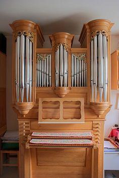 Pipe organ by Jean Lemoine, via Flickr