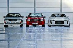Audi evolution
