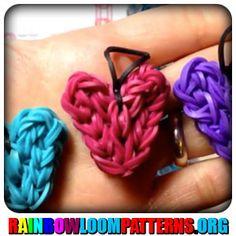 Rainbow Loom Charms - Heart Charm