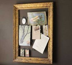 Made my own for $15 using Bulldog clips and framing wire. Found this how-to after making mine. We use our frame to display kids' artwork.