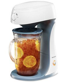 Tea time! West Bend 68303 Ice Tea Maker BUY NOW!