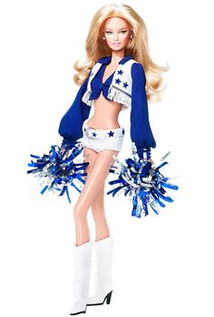 Dallas Cowboys Cheerleaders Barbie® Doll | Barbie Collector