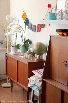 Working the retro furniture