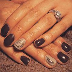 ten nail & makeup studio klang nail designs nail makeup nail makeup inc nail makeup harley gardens nail art designs nail art designs hansen chrome nail makeup Feather Nail Designs, Feather Nail Art, Toe Nail Designs, Arrow Feather, Get Nails, Fancy Nails, Love Nails, Pretty Nails, Western Nails