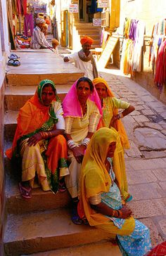 jaisalmer fort by kikivoyage, via Flickr