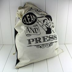 the dapper chap laundry bag by nest | notonthehighstreet.com