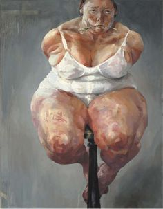 View Nats by Jenny Saville on artnet. Browse upcoming and past auction lots by Jenny Saville. Painting People, Figure Painting, Jenny Saville Paintings, Art Alevel, Figurative Kunst, Lucian Freud, Fat Art, Figure Drawing Reference, A Level Art