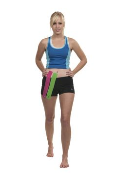 KT Tape Hip Flexor application