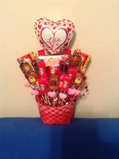 Happy Valentines Day!!! Basket for Kenneth.