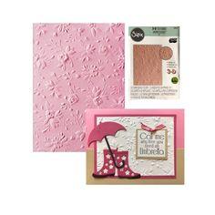 Pink Sizzix 660268 Embossing Folder