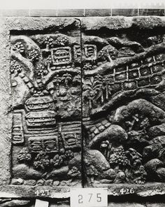 of two reliefs from Trowoelan Modjokerto East-Java Vietnam, Bali, Jakarta, Southeast Asia, World War Ii, Archaeology, City Photo, Museum, Collection