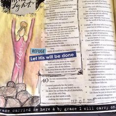 """I just love Psalm 40 on my low days. When I'm feeling empty & down. When I just don't feel like singing praises. When I'm throwing myself a pity party. This chapter seems to express all I'm feeling. But I'm reminded that when I'm feeling empty, I should be asking God to fill me up. Empty is ok, because I'm letting go & have room to be filled up with God's love & grace. I've had Tori Kelly's song Hollow on repeat when I feel like this """"So hold me Wrap me in love, fill up my cup Empty and…"""