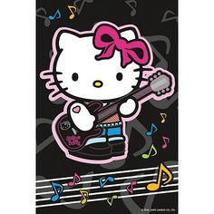 Ravensburger - Jigsaw Puzzle - 54 Pieces - Hello Kitty : Playing Guitar - Jigsaw Puzzle Road