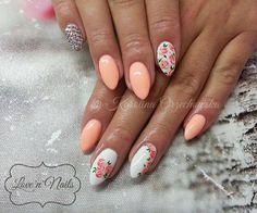 by Karolina Orzechowska, Follow us on Pinterest. Find more inspiration at www.indigo-nails.com #nailart #nails #spring #flower