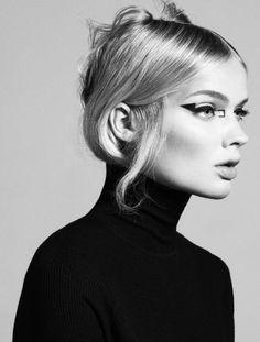 Stunning portrait photography by Ester Grass Vergara Love Makeup, Makeup Art, Makeup Looks, Hair Makeup, Eyeliner Makeup, Graphic Eyes, Graphic Eyeliner, Pelo Editorial, Beauty Editorial