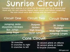 Sunrise Circuit: Cardio + Core Workout