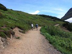 Flattop Park Trail in Anchorage, AK