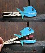 fish clothespin craft