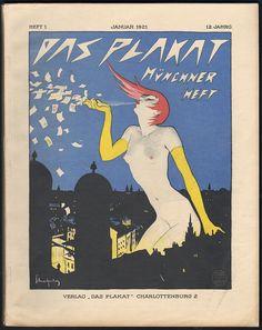 Walter Schnackenberg poster, 1921