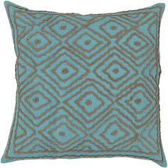 Surya Atlas Multi-Dimensional Diamond LD-033 Pillow by Beth Lacefield – Incredible Rugs and Decor