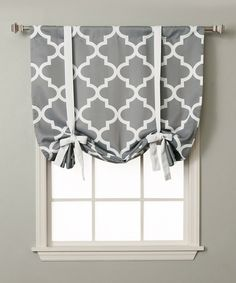 Another great find on #zulily! Gray Moroccan Room-Darkening Shade by Best Home Fashion #zulilyfinds