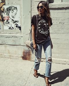 "JULIE SARIÑANA on Instagram: ""Off duty in our Bonnie jeans!  @shop_sincerelyjules shopsincerelyjules.com"""