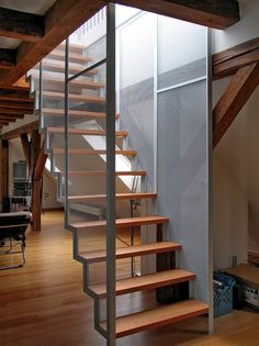 dachtreppe treppe dachterasse streckmetall 01