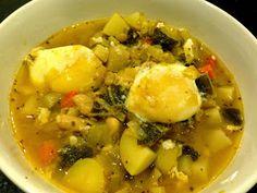 White Bean, Root Vegetable and Adobo Stew recipe.   #AlvinCulinaryArts
