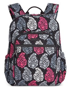 Vera Bradley Campus Tech Backpack, Northern Lights, One Size: Clothing Backpack For Teens, Backpack Bags, Fashion Backpack, White Backpack, Rucksack Bag, Backpack Online, Lightweight Backpack, Backpack Reviews, Cute Backpacks