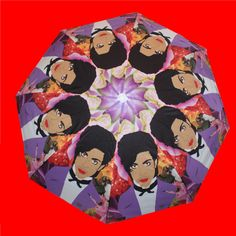PRINCE the artist FORMERLY as  umbrella... original illustration