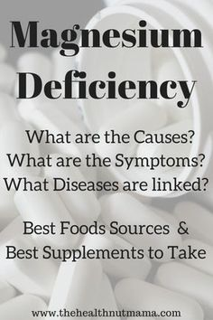 Did you know that Magnesium Deficiency is one of the leading nutrient deficiencies in adults? Causes, Symptoms, Diseases linked to, Foods & Supplements.