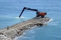 Image result for land reclamation in gibraltar