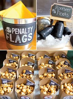 Cute ideas for your next football party