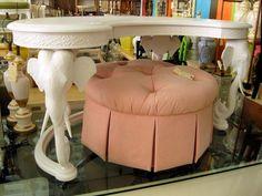 I want a desk like this! Fretwork Elephant Desk 3690