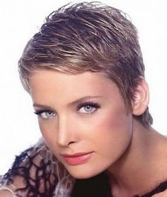 Great Example of Short Pixie Haircuts: Very Short Pixie Haircuts For Thick Hair – Fobsic