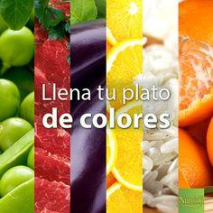 Para tener una alimentación completa, integra todos los grupos de alimentos y colores en tus platillos. ¡Además, a tus peques les van a encantar! ¡Chop, chop, chop! :)
