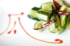 A Disney Recipe to Celebrate National Fresh Fruit and Veggie Month - Diao Yu Tai Cucumber Salad #disneyrecipes
