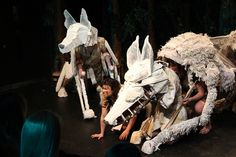 Princess Mononoke Production - April 2013 © Polly Clare Boon for Whole Hog Theatre