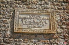 tablica przy bramie lądowej | CroLove.pl | #croatia #hrvatska #chorwacja #korcula