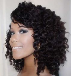 25 Curly Hairstyles for Cute Black Round Faces | Hairstyle Ideas