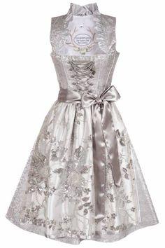 Wundervolles Midi Dirndl von Tramontana, was auch als Hochzeitsdirndl oder Brautdirndl bei der Trachtenhochzeit Einsatz findet in schönem taupe und... Dirndl Dress, Scarf Dress, Marriage, Victorian, Womens Fashion, Wedding, Dresses, Mauve, Outfits