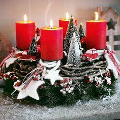 Ein Kranz, welcher zur individuellen Gestaltung anregt. #Weihnachten #Adventskranz