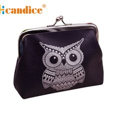 Brand new Womens Cute Owl Pattern Female Wallets Card Holder Coin Purse  Clutch Handbag ladies Gift 1 pcs-in Coin Purses from Luggage & Bags on Aliexpress.com | Alibaba Group.$1.06