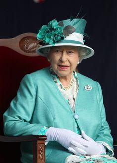 Queen Elizabeth, October 27, 2011 in Rachel Trevor Morgan