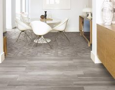 Porcelain stoneware with wood effect by Ceramiche Supergres