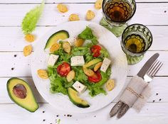 Salad with avocado by pretty  IFTTT 500px
